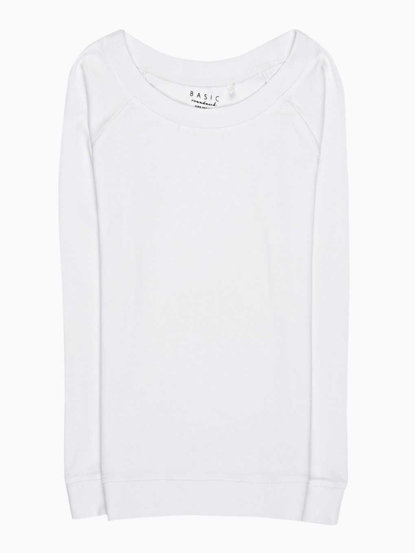 Jednoduché žebrované tričko
