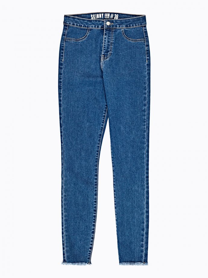 Basic skinny high-waisted jeans
