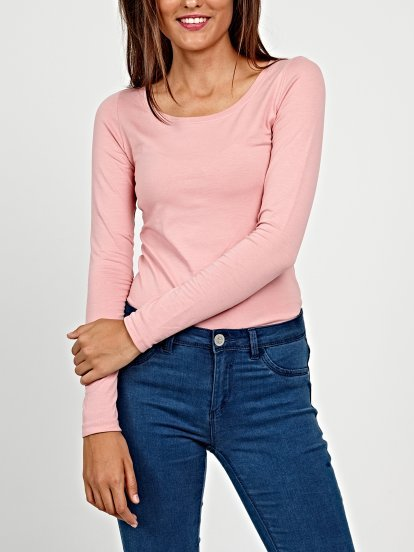 Jednoduché strečové tričko