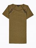 Koszulka ze sznurowaniem