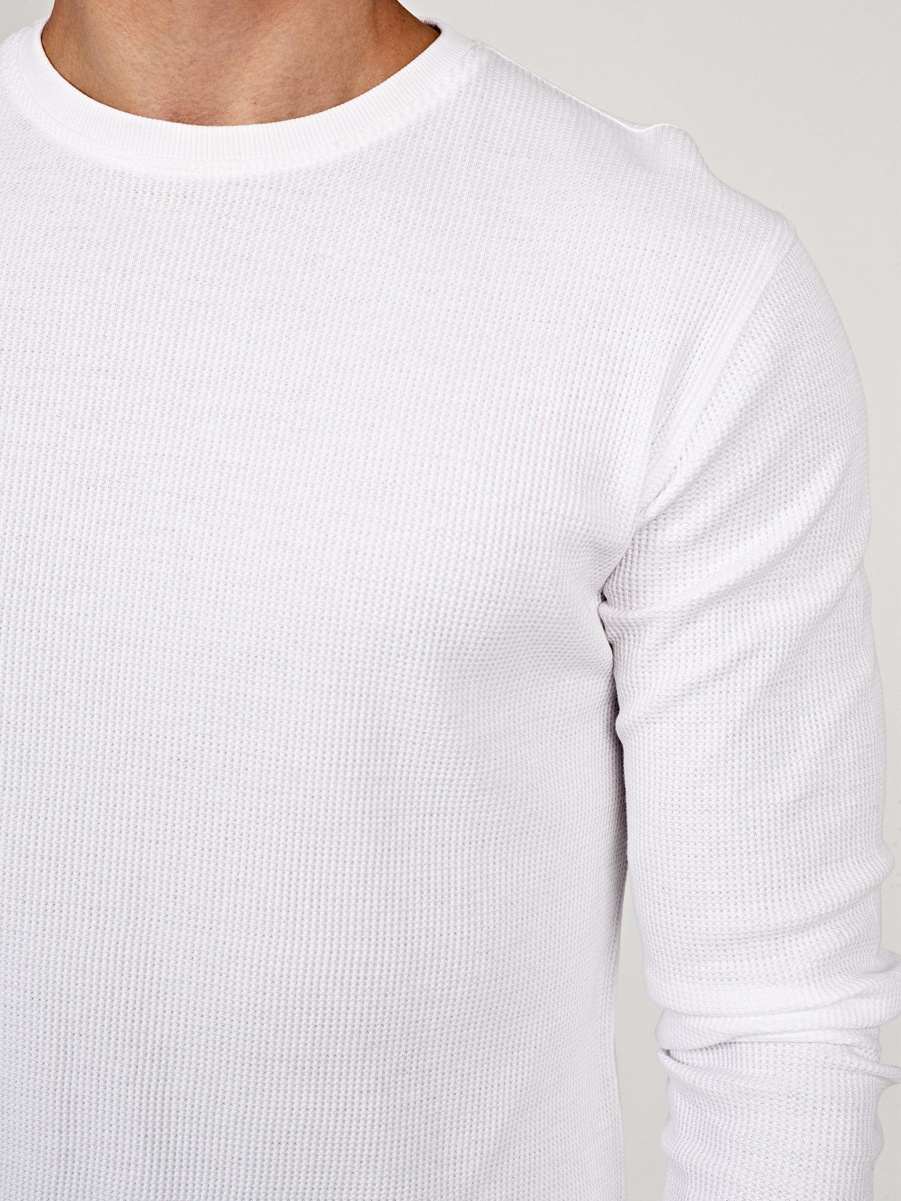 Basic Waffle Knit T Shirt Gate