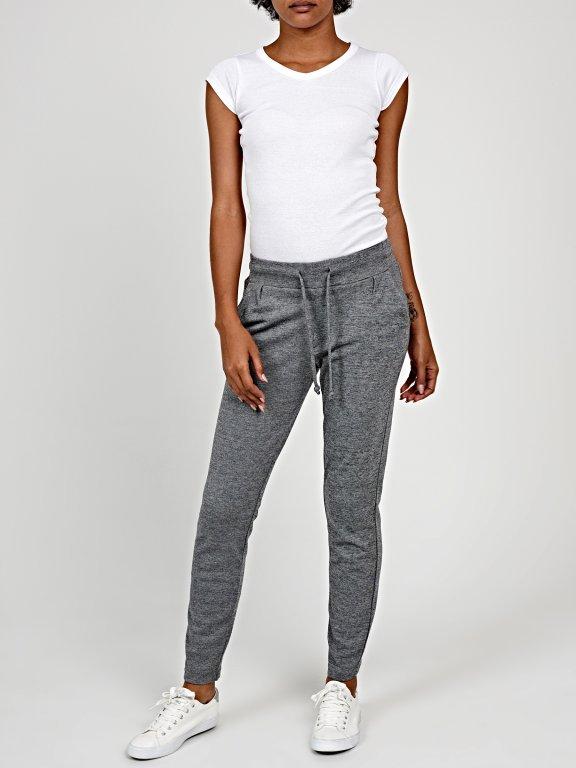 Marled sweatpants