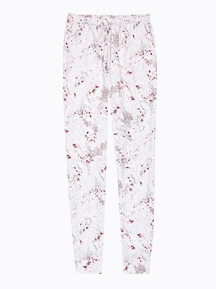 Floral print pyjama bottom