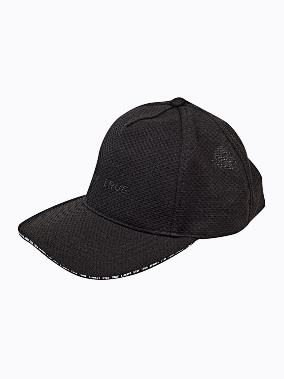 Snapback with embroidery