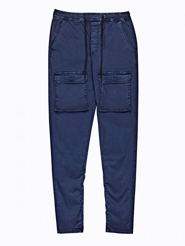 Kalhoty tapered fit s kapsami
