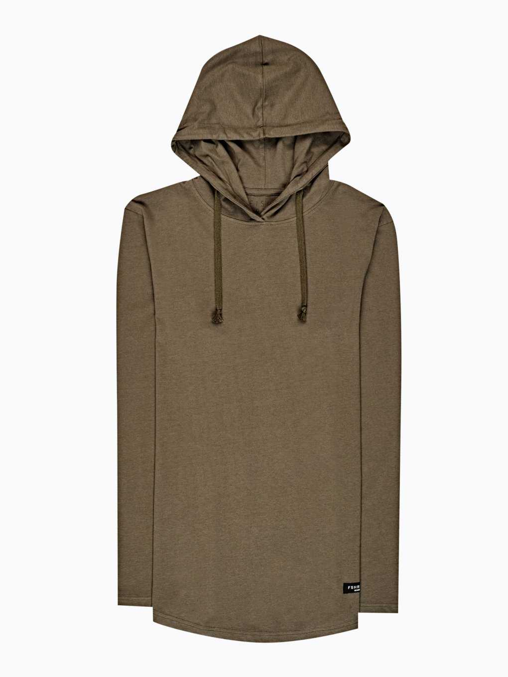 Hooded t-shirt with zippers