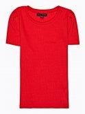 Rib-knit top