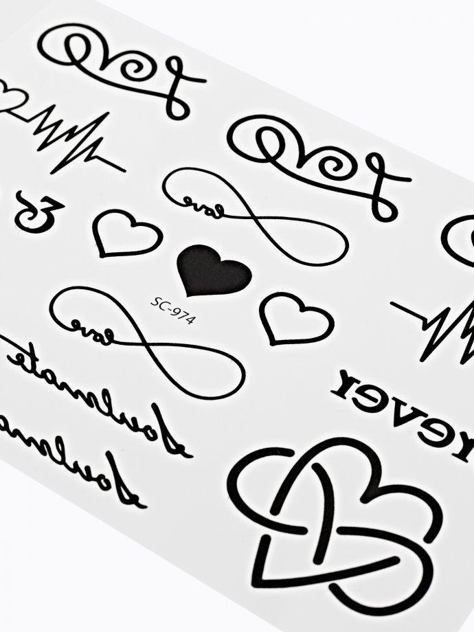 17-pack tatoos set