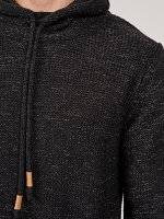 Marled jumper with turtle neck