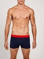 Polka dot print boxers