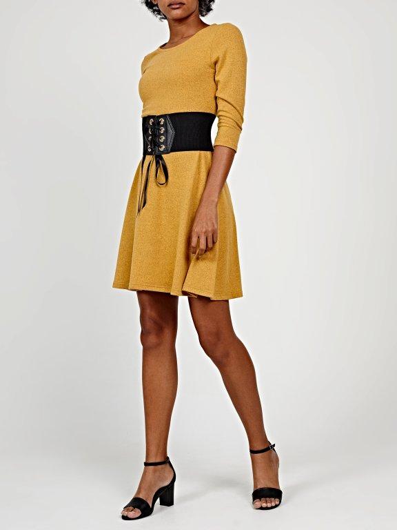 Knitted ballerina dress