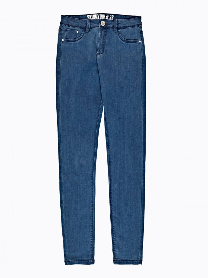 Basic high-waisted skinny jeans