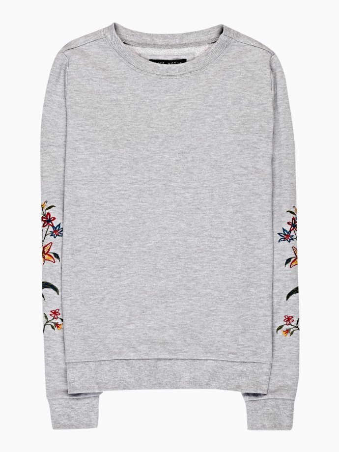 Emroidered sweatshirt