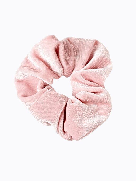 Velvet rubber band