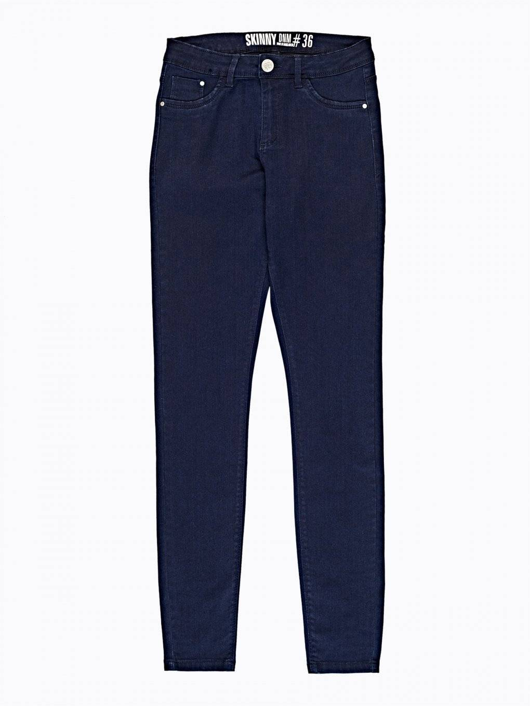 Basic high-waisted skinny jeans