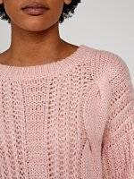 OVERSIZED CABLE-KNIT JUMPER