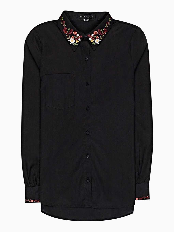 Bavlnená košeľa s výšivkou