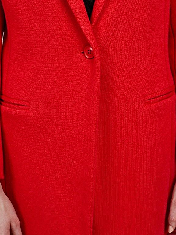 Single button lonngline blazer