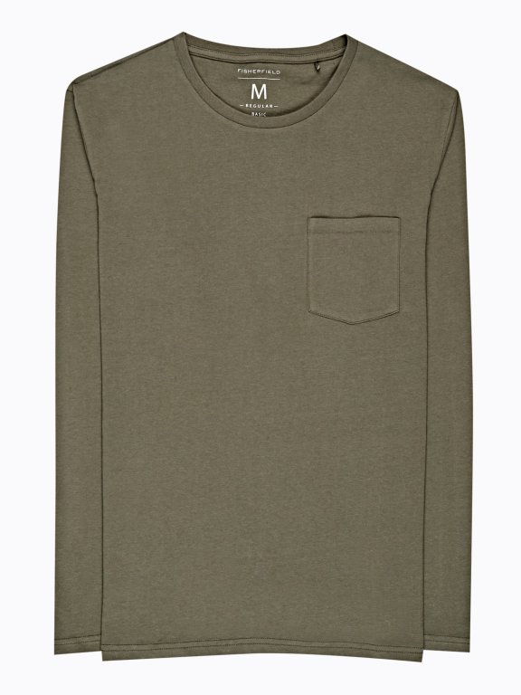 Basic t-shirt with chest pocket