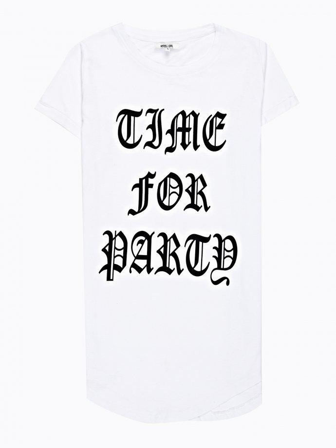 Message print boyfriend t-shirt