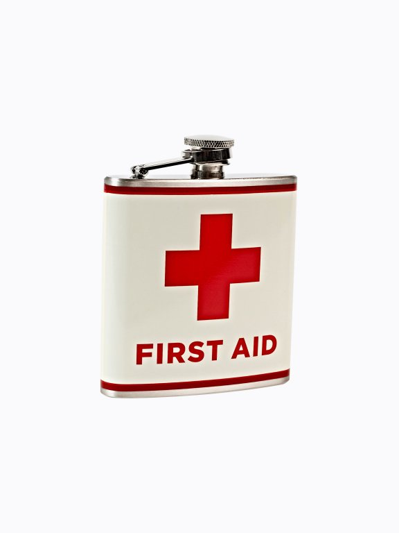 First aid hip flask