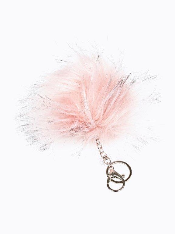 Pompom key ring