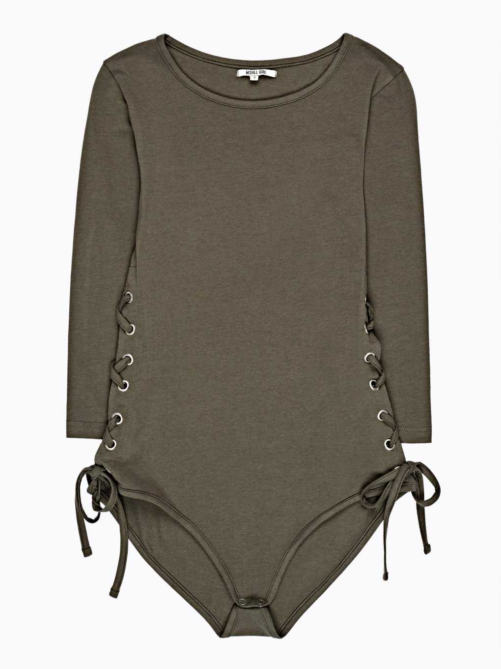 LACE-UP BODYSUIT