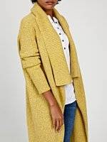 Longline cardigan in wool blend