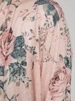 Floral carigan