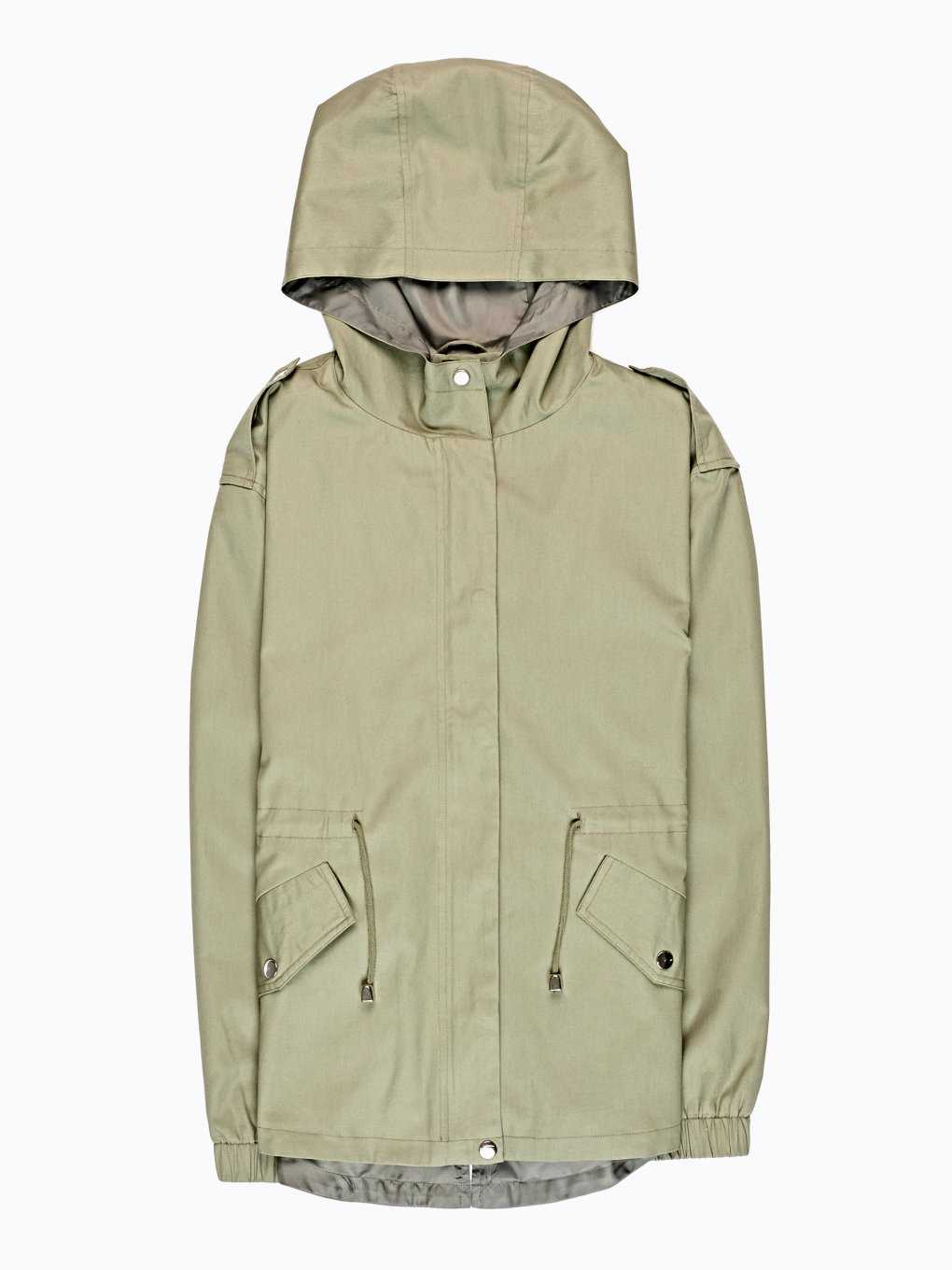COTTON PARKA WITH HOOD