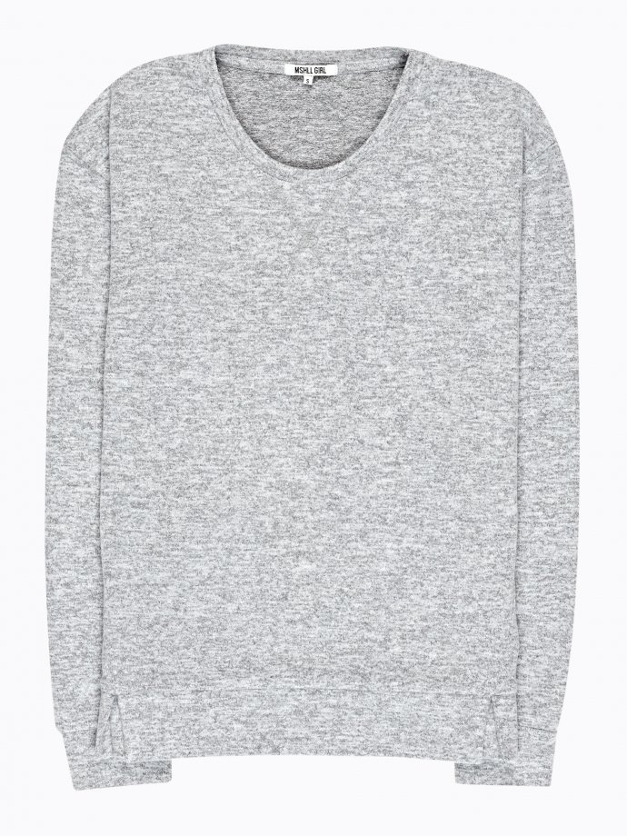 Basic jumper with front slits