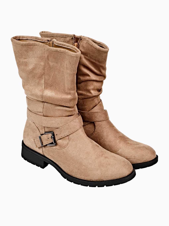Buty z imitacji zamszu