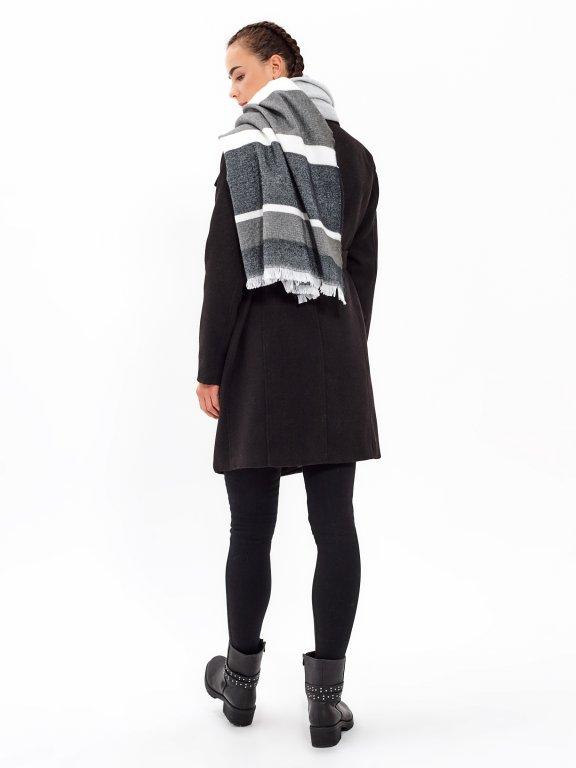 Duster coat with belt