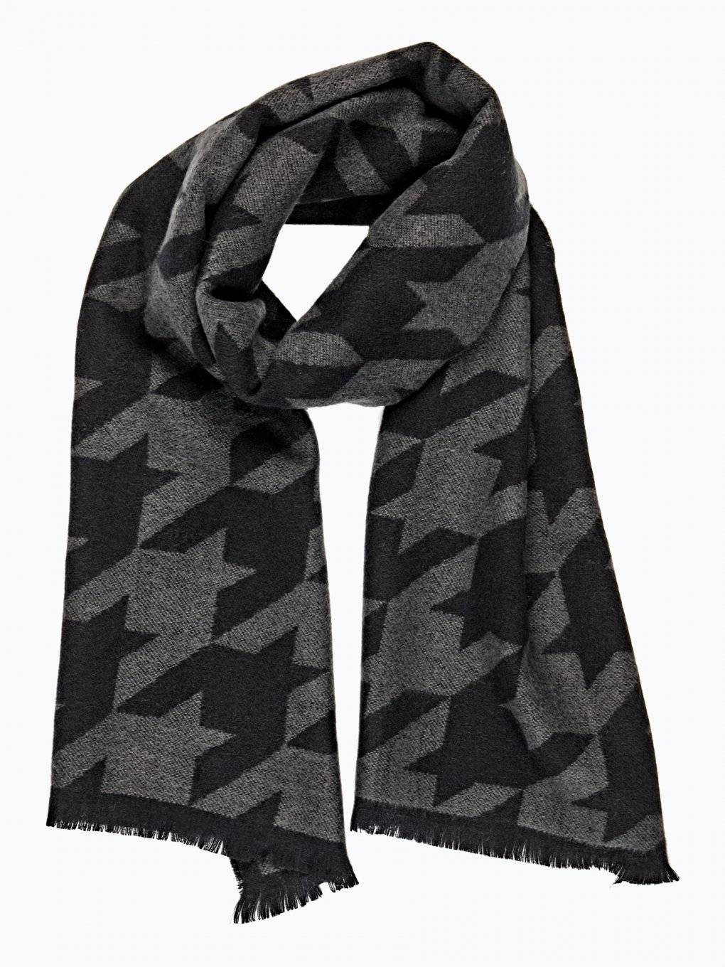 HOUNDSTOOTH SCARF