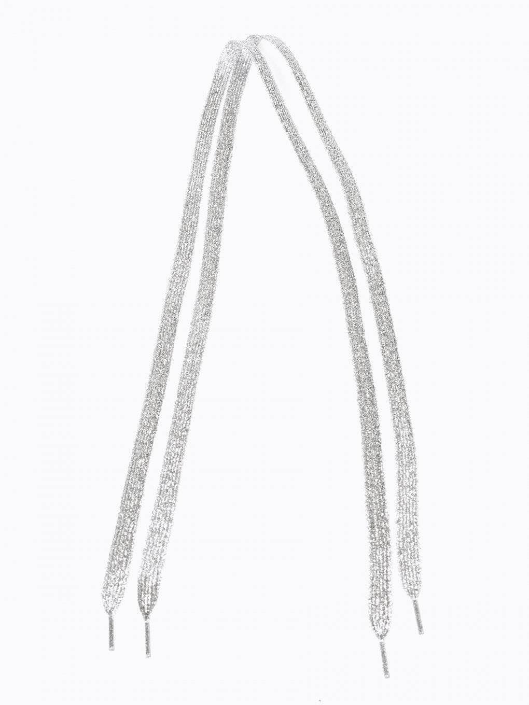Metaliczne sznurówki