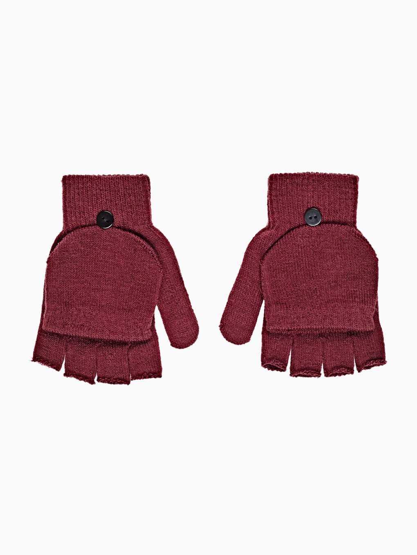 Jednoduché rukavice bez prstů