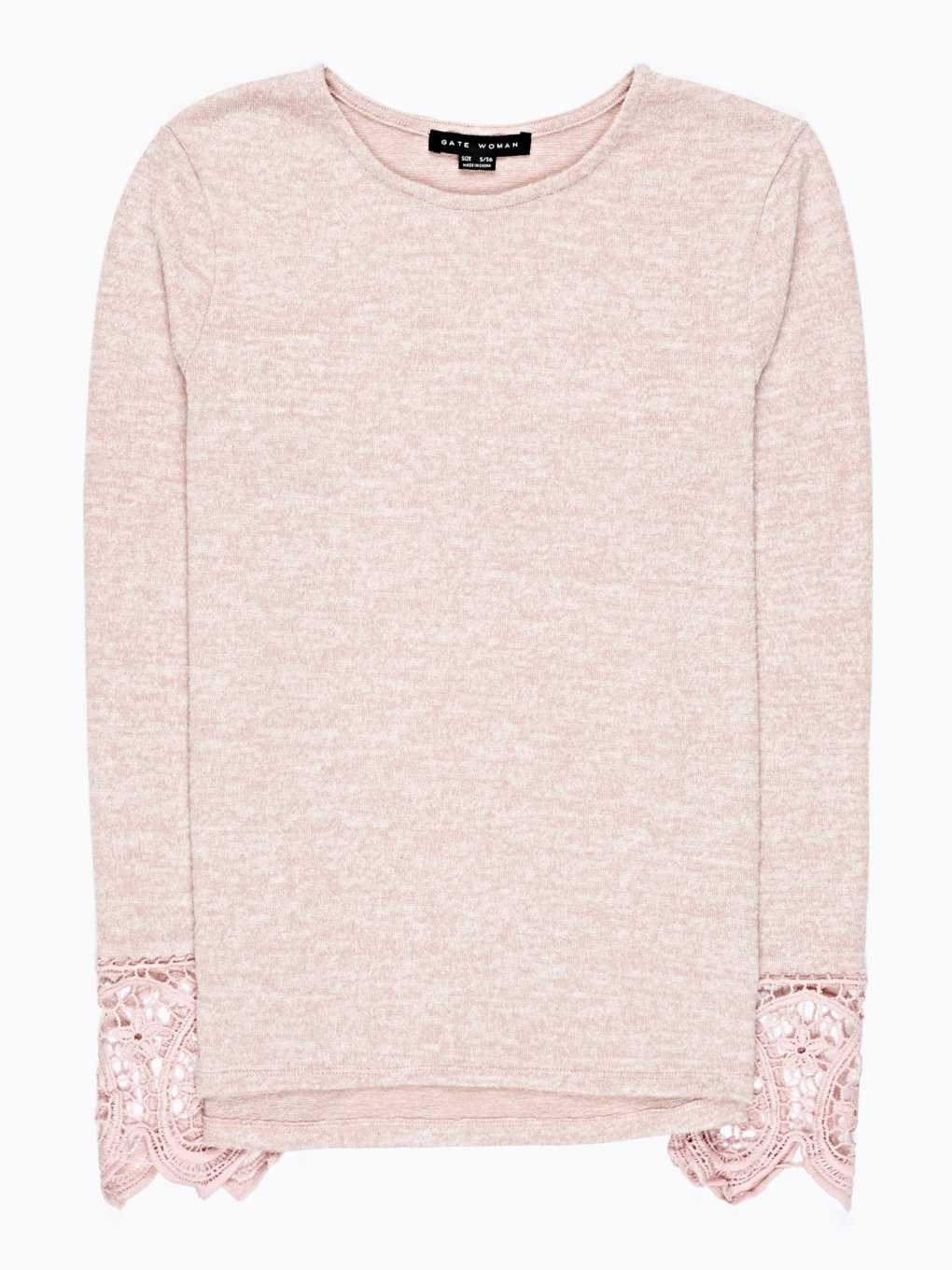 JUMPER WITH LACE DETAIL