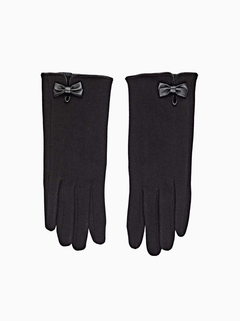 GLOVES WITH BOW