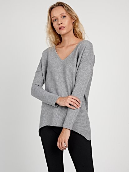 STRUCTURED OVERSIZED JUMPER