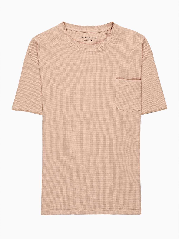 Široké vafľové tričko
