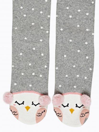 Ponožky so sovičkou