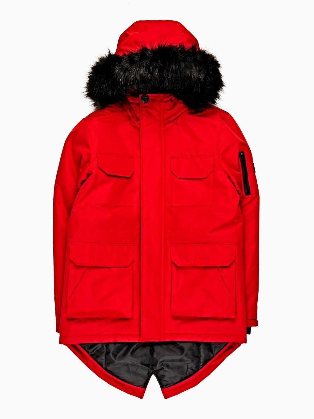 PADDED PARKA WITH REMOVABLE HOOD