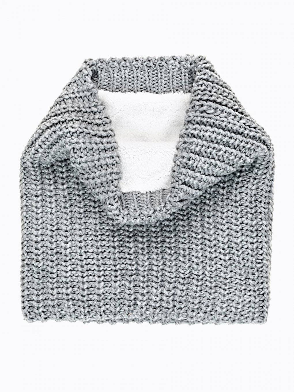 PILE LINED KNITTED SNOOD