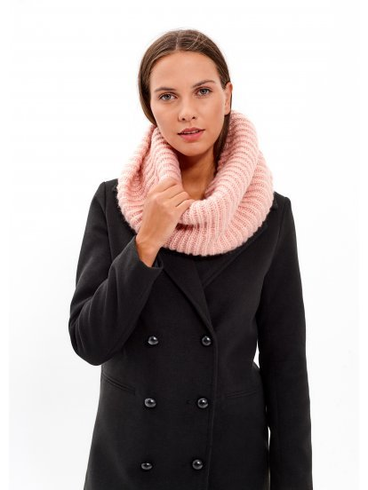 BASIC RIB-KNIT SNOOD