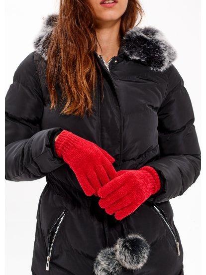 Chenille gloves