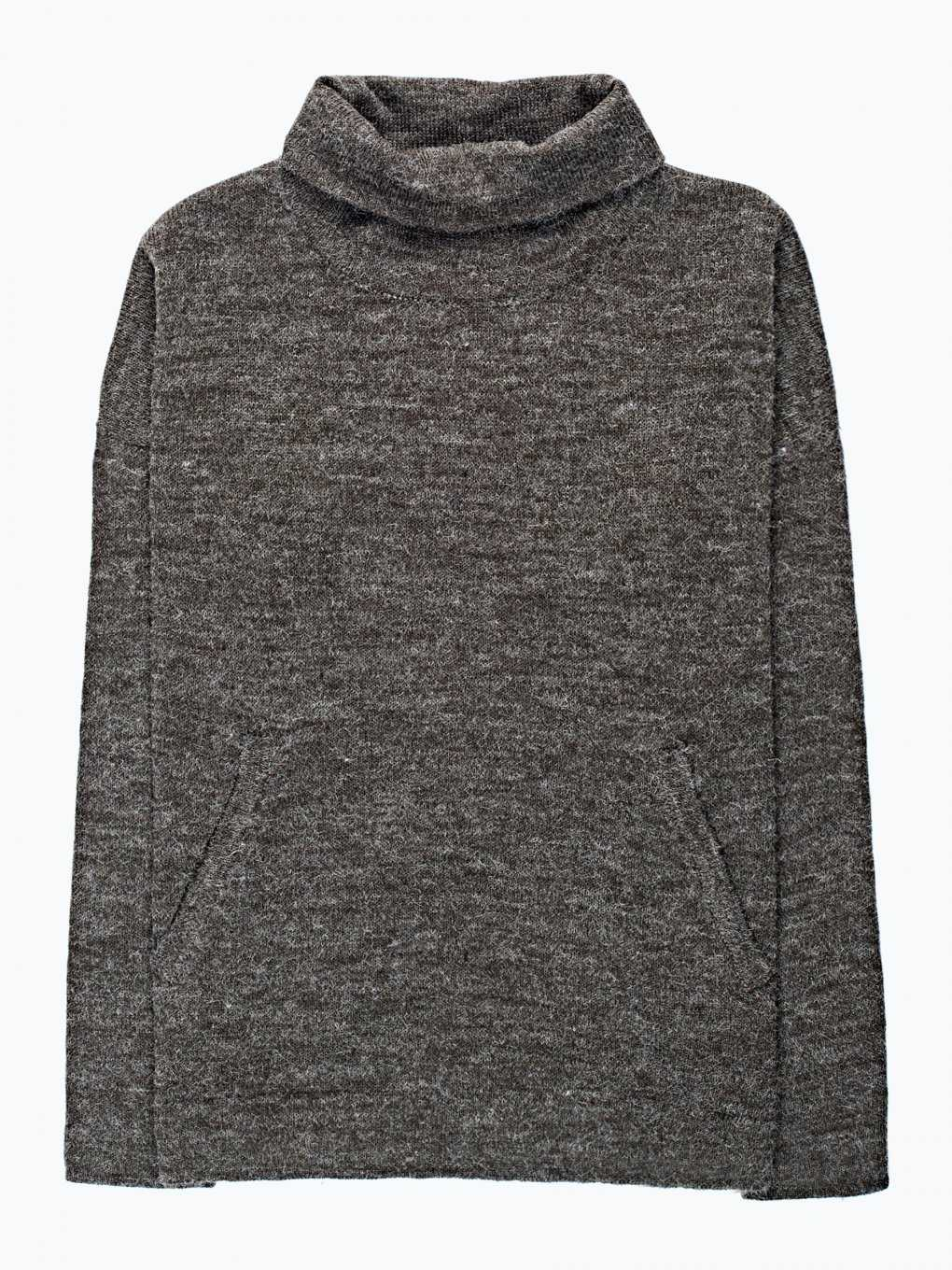 Roll neck jumper with pockets