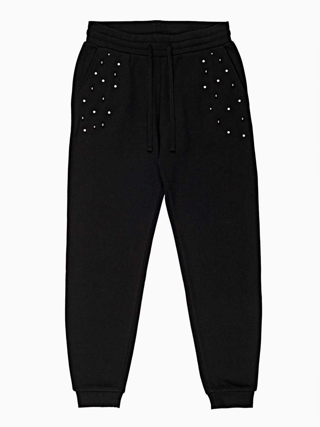 SWEATPANTS WITH STUDS