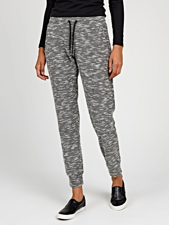 Marled sweatpants
