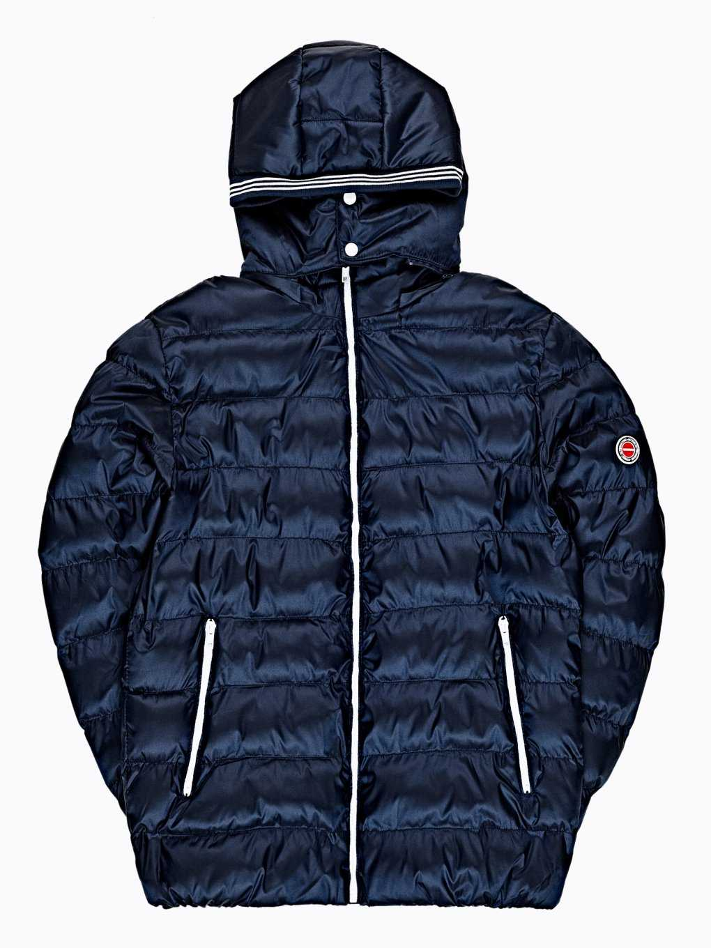 QUILTED PUFFER JACKET WITH HOOD