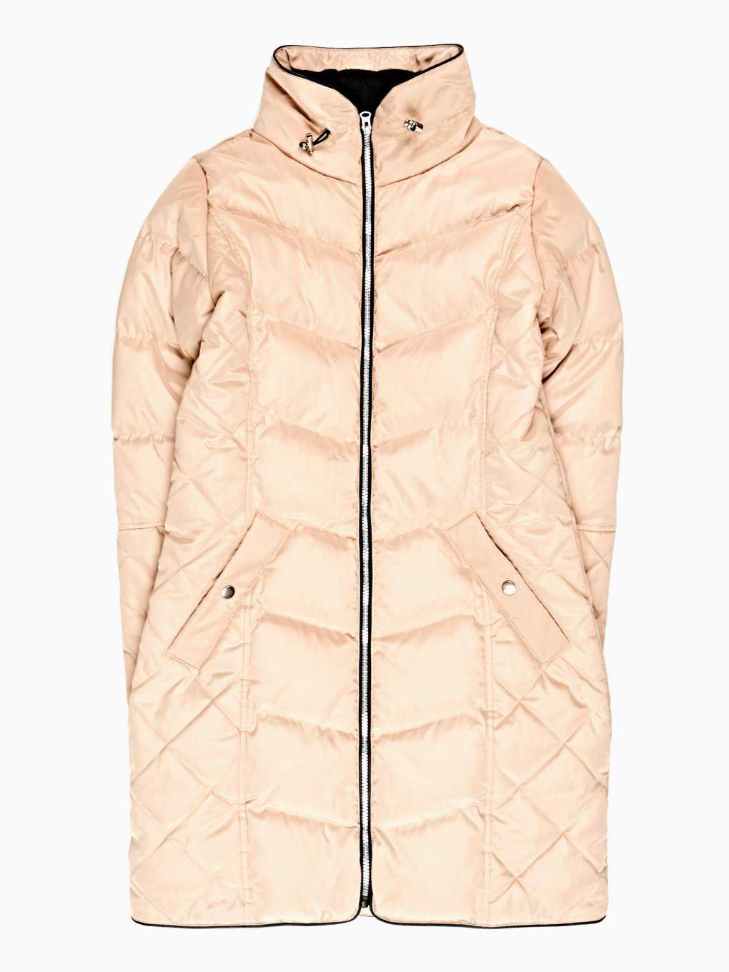 LONGLINE QUILTED PADDED JACKET